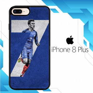 antoine griezmann france FIFA WORLD CUP Z7036 iPhone 8 Plus Cover Cases