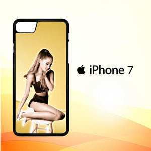 ariana grande gold L0588 iPhone 7 Cover Cases