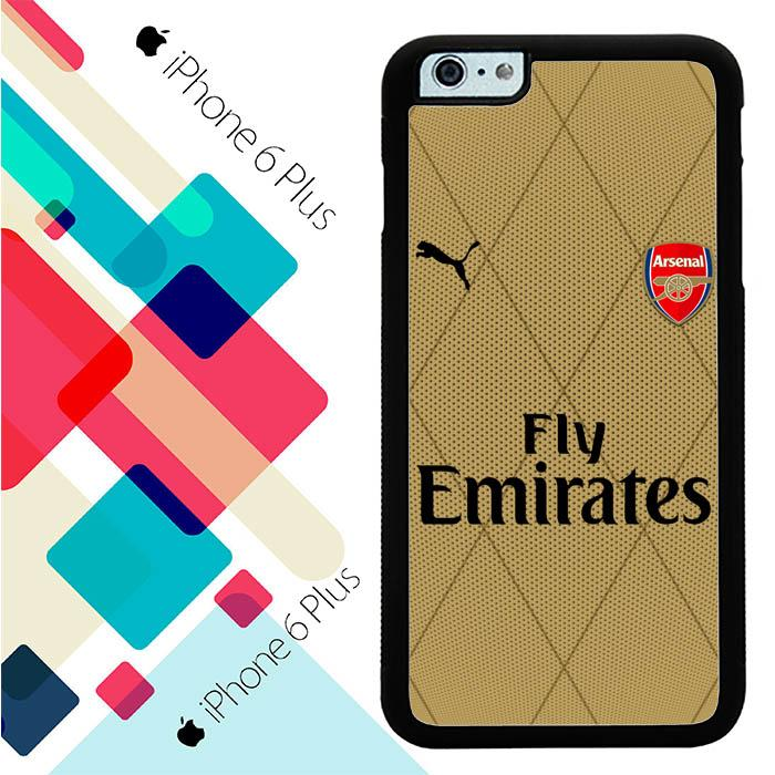 arsenal football W0041 iPhone 6 Plus Cover Cases