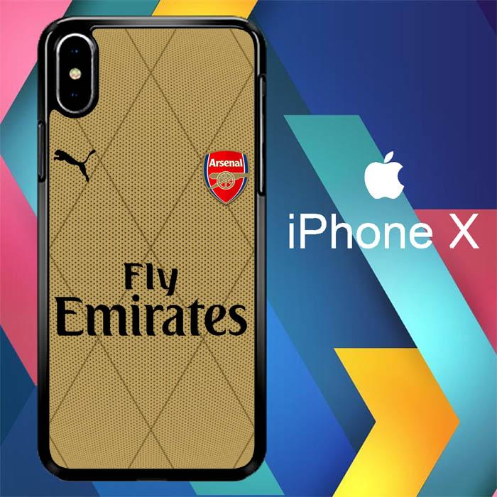 arsenal football W0041 iPhone X | iPhone XS Premium Cover Cases