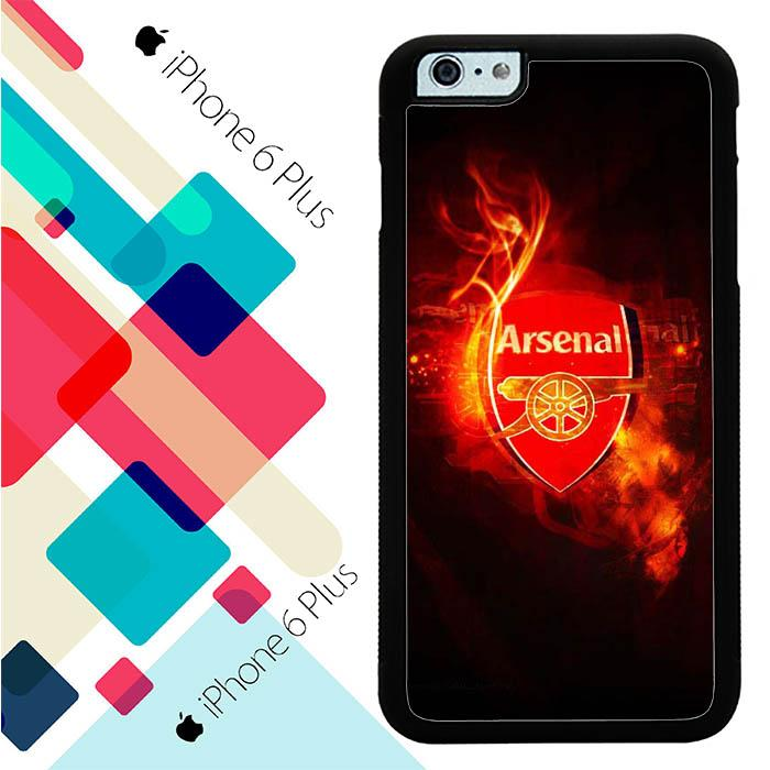 arsenal football W0043 iPhone 6 Plus Cover Cases