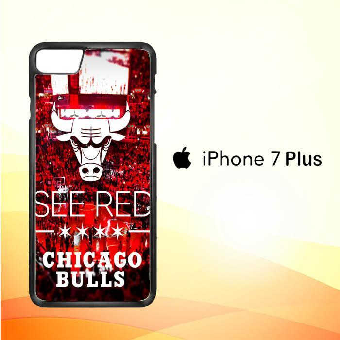 chicago bulls X3167 iPhone 7 Plus Cover Cases
