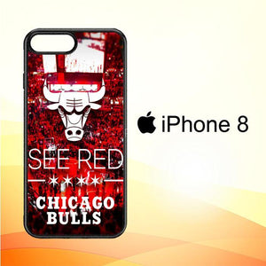 chicago bulls X3167 iPhone 8 Cover Cases