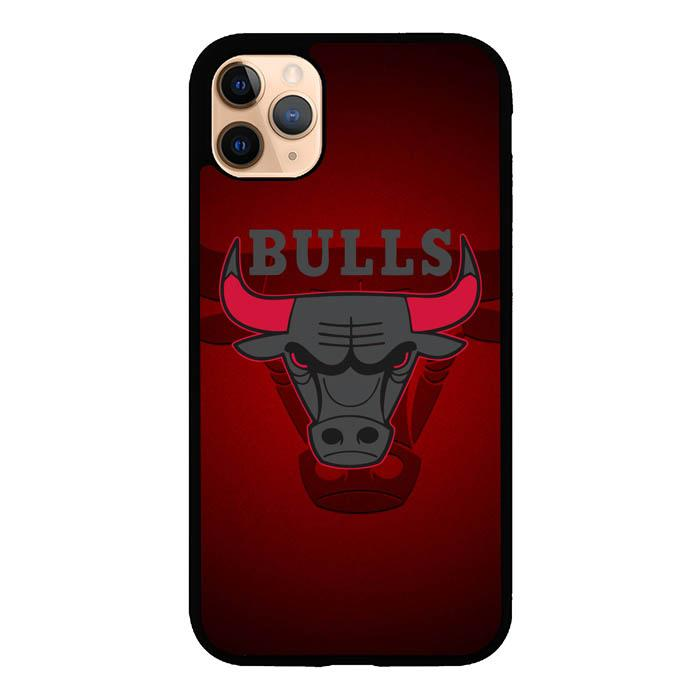 chicago bulls logo Z3338 iPhone 11 Pro Max Case
