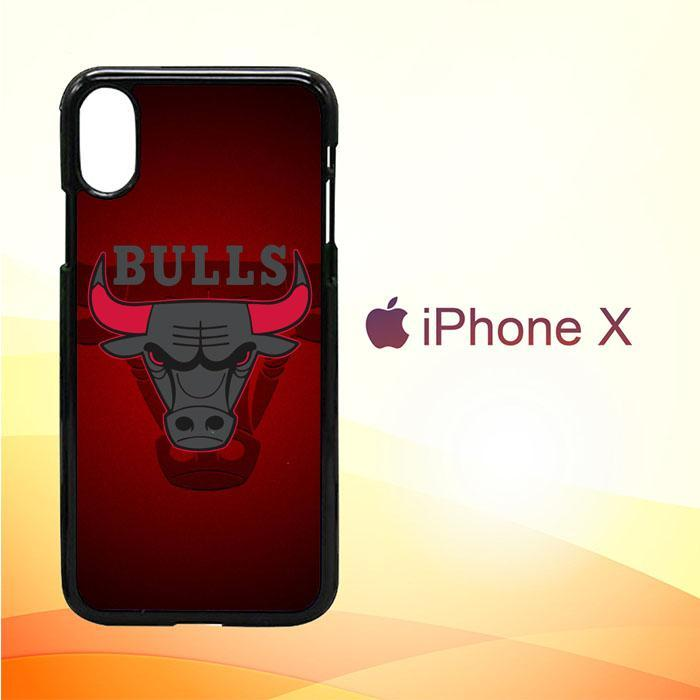 chicago bulls logo Z3338 iPhone X | iPhone XS Premium Cover Cases