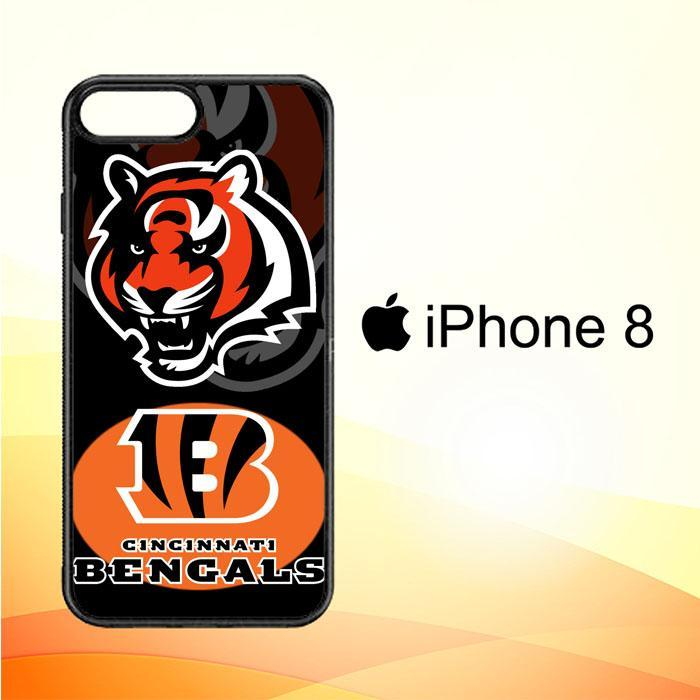 cincinnati bengals logo X3229 iPhone 8 Cover Cases