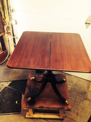 refinished table top
