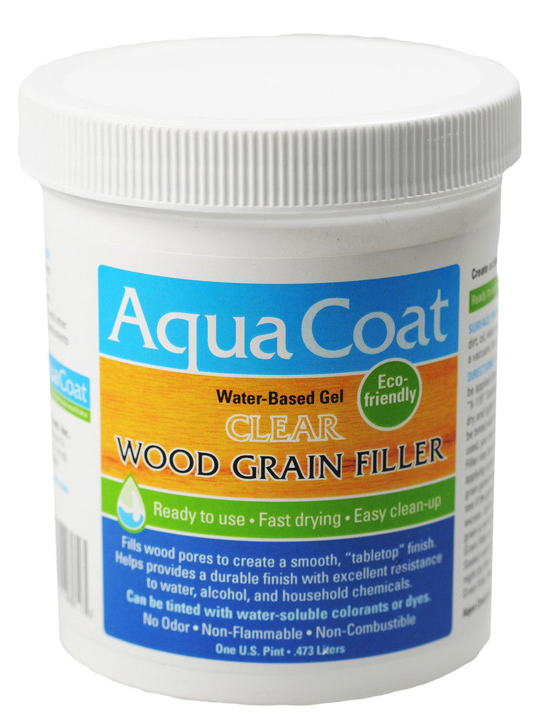 Aqua Coat Clear Grain Filler RETAIL PACK