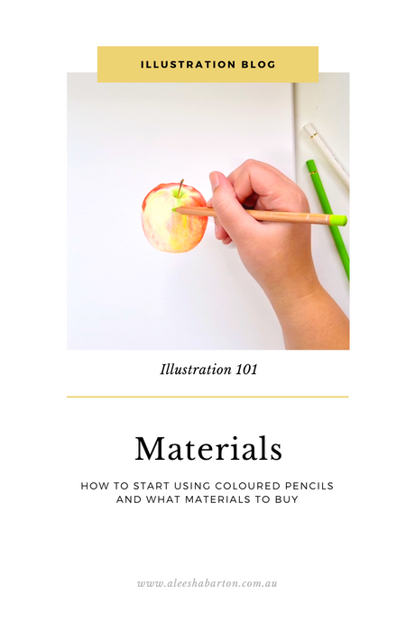 Materials To Start Drawing