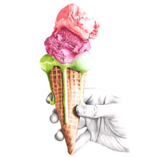 Load image into Gallery viewer, Ice Cream Print