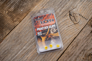 Practice Clips, Transform your  Thorn expandable Broadhead into a practice broadhead