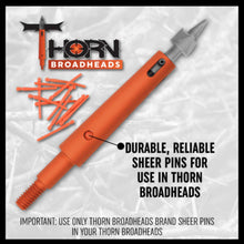 Load image into Gallery viewer, Thorn 125 Grain Expandable Broadhead 3-Pack