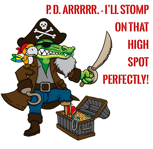Pirate Gator