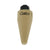 An Image of a tan-colored PDR Gator Tooth Tiki round tip from EdgyTools for high-end paint