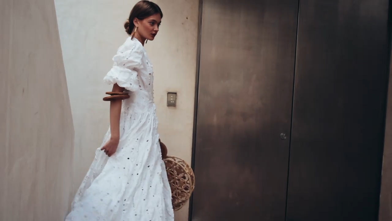 Willow Dress - Off White – CULT GAIA