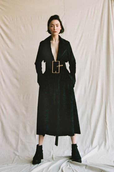 Aya Coat - Black