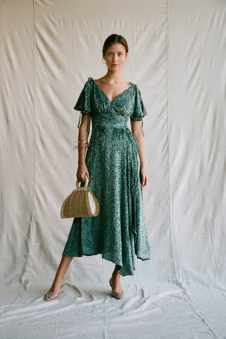 Lilah Dress - Seafoam