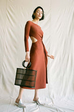 Tina Dress - Rust