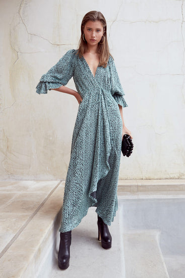 Oona Dress - Seafoam