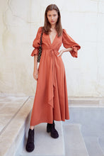 Oona Dress - Rust