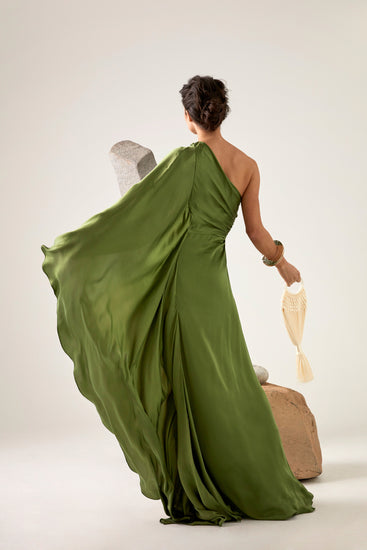 Cosette Gown - Leaf