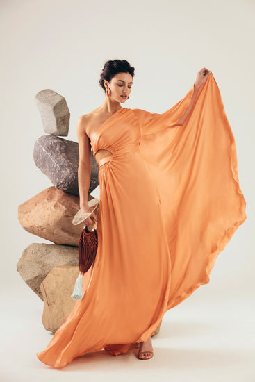 Cosette Gown - Peach