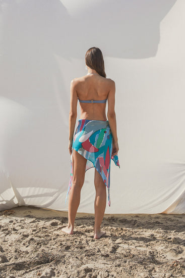 Isabella Skirt - Surf Multi