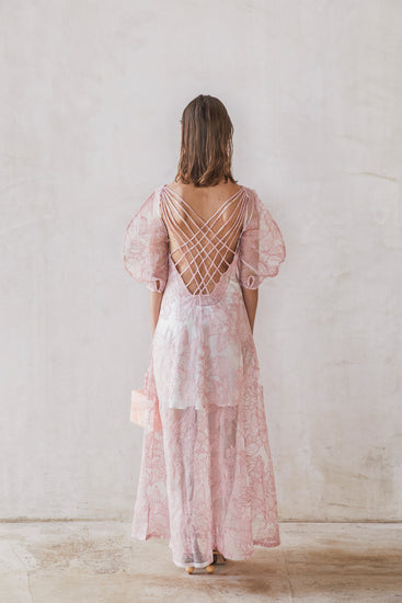 Tilda Dress - Dusty Pink