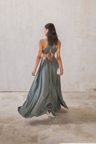 Aphrodite Gown - Seaspray (EXCLUSIVE)