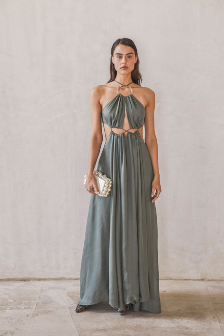 Aphrodite Grecian Gown - Seaspray