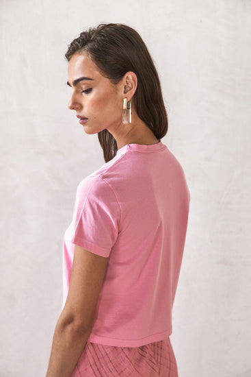 Gaia's Tee - Pink (EXCLUSIVE)