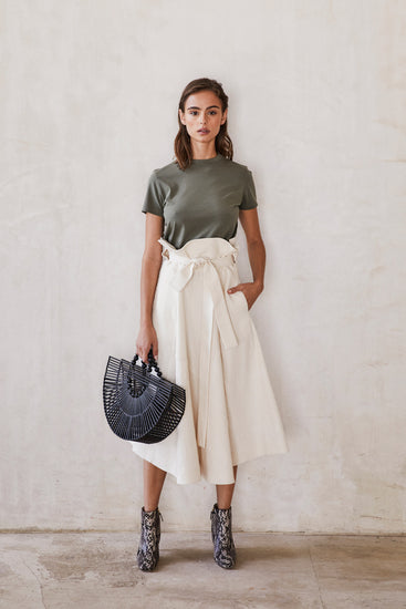 Asha Skirt - Cream (EXCLUSIVE)