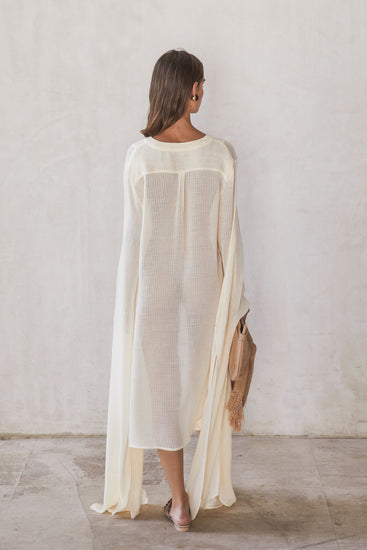 Rishima Dress - Natural