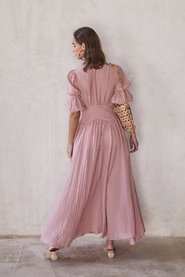 Willow Dress - Rose Quartz