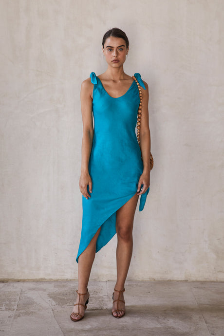 Delilah Dress - Azure