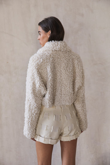 Evie Jacket - Off White