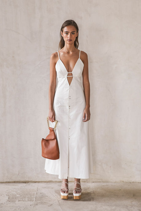 Myrium Dress - Off White