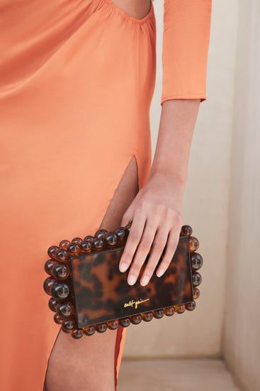 Eos Box Clutch - Tortoise