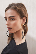 Mini Tria Earring - Black Multi