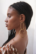 Mini Tria Earring - Gold