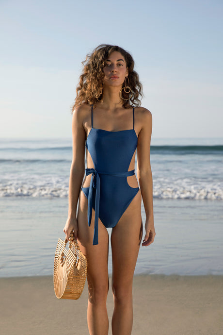 Gemma One Piece - Navy (EXCLUSIVE)