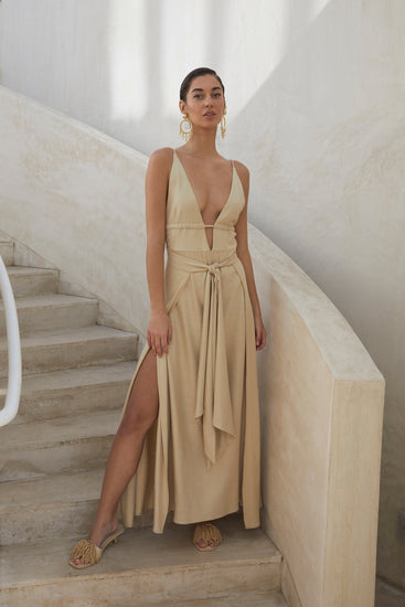 Margot Dress - Sand