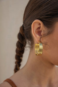 Mini Kaia Hoop - Gold