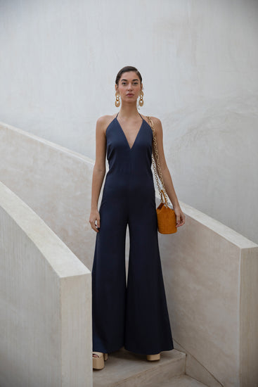 Irina Jumpsuit - Navy