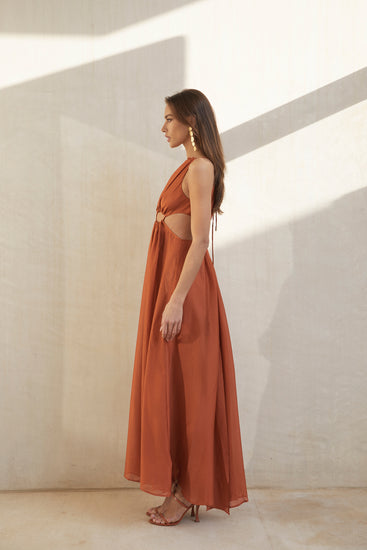 Thera Dress - Amber (PREORDER)