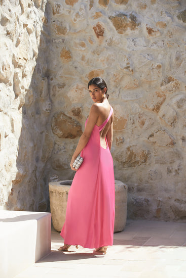 Theodora Gown - Flamingo