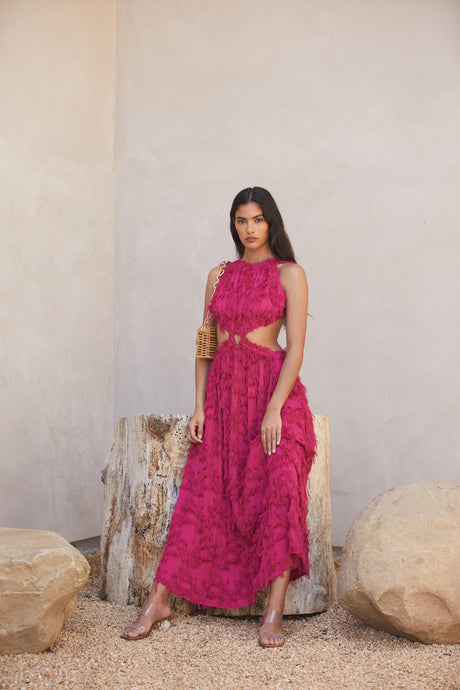 Theia Dress - Peony (EXCLUSIVE)