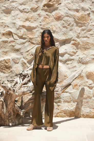 Stacie Pant - Olive
