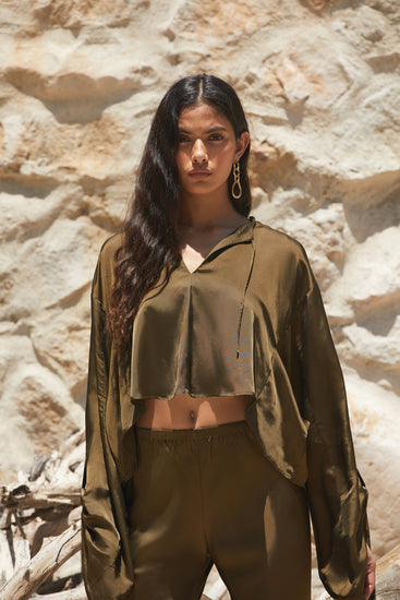 Alyx Top - Olive (PREORDER)
