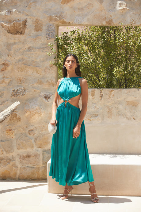 Theia Dress - Azure (EXCLUSIVE)